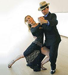 Dan Marshall & Katalin Matyus Tango Pose