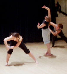 Modern Dance - Kelley Donovan and Dancers -- Creative Dance
