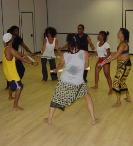 World Dance Theatre Rehearsal